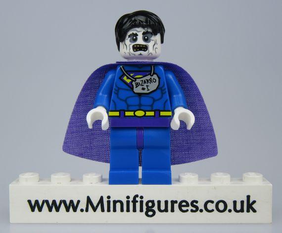 Bizarro Pseudo Superman LeYiLeBrick Custom Minifigure