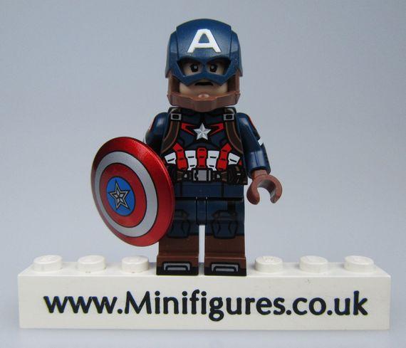 Captain America Custom Minifigure