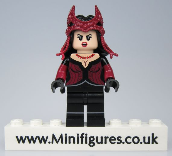 Crimson Witch DCB Custom Minifigure