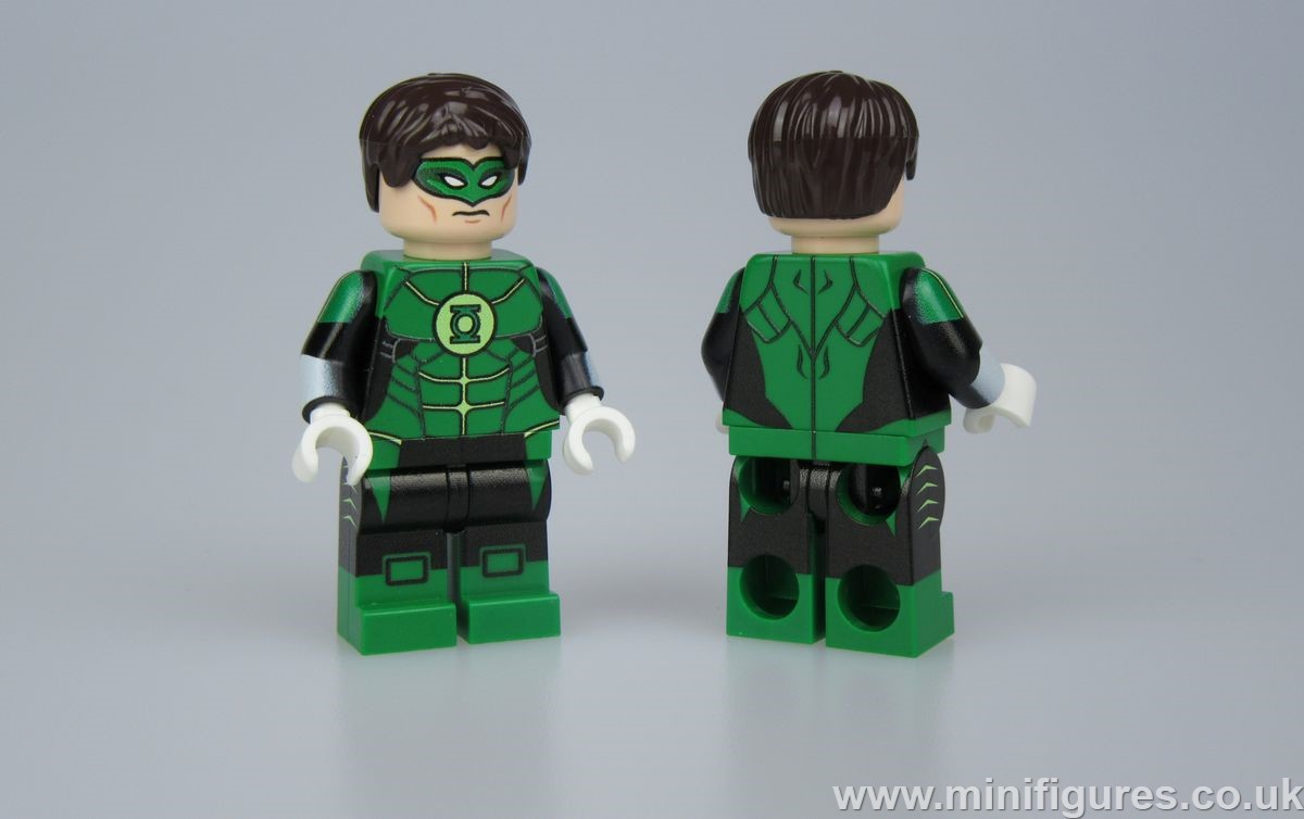 Green Lantern Injustice LeYiLeBrick Custom Minifigure