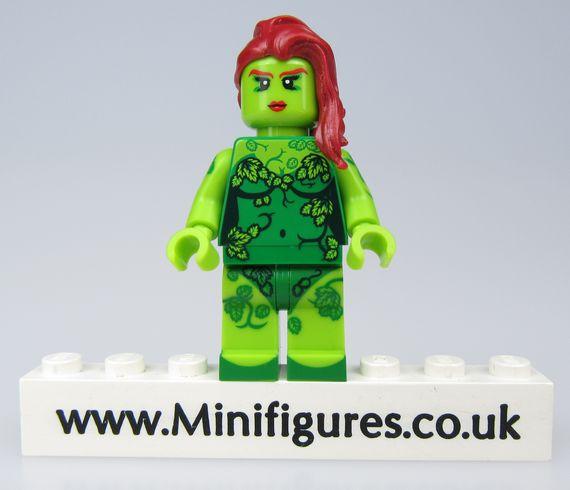 Poison Ivy Dragon Brick Custom Minifigure