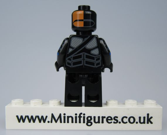 Armored Mercenary V2 SH x PC Custom Minifigure
