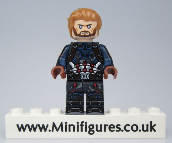 Avengers Alliance Cap LeYiLeBrick Custom Minifigure