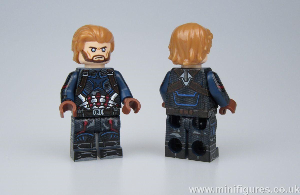 Avengers Alliance Cap LeYiLeBrick Custom Minifigure