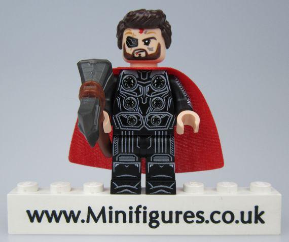 Avengers Alliance Thor LeYiLeBrick Custom Minifigure
