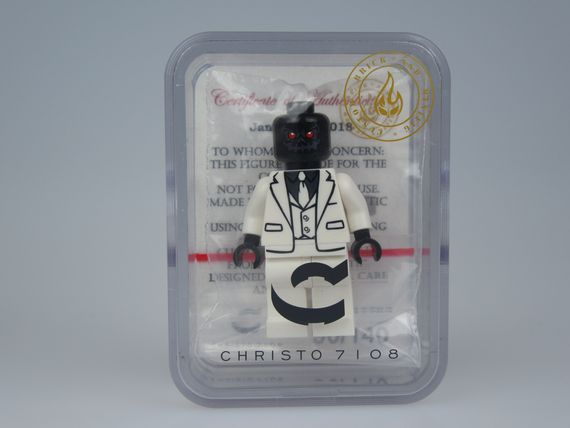 Black Mask Christo Custom Minifigure