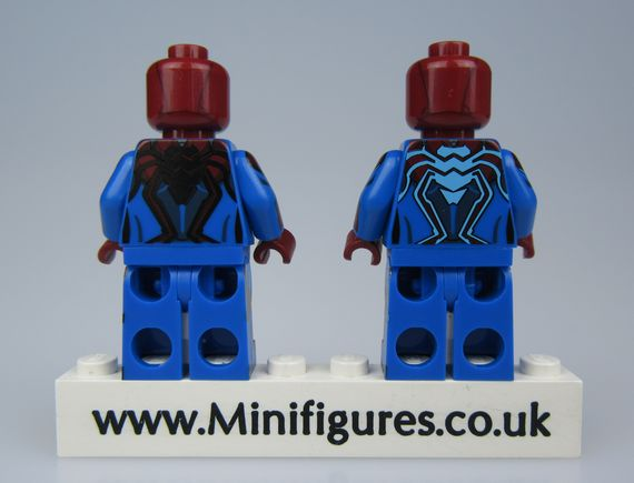 Concept Spider-Man Triangle Custom Minifigures