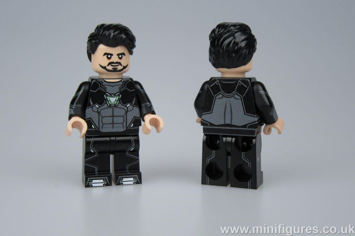 Concept Version Tony LeYiLeBrick Custom Minifigure