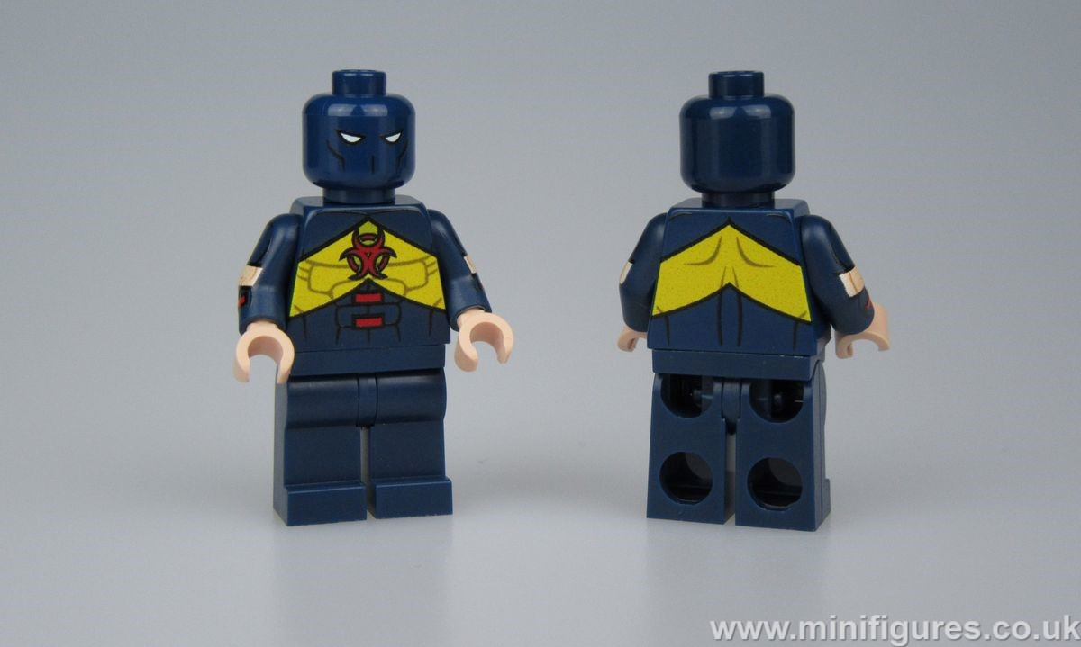 Damage LeYiLeBrick Custom Minifigure