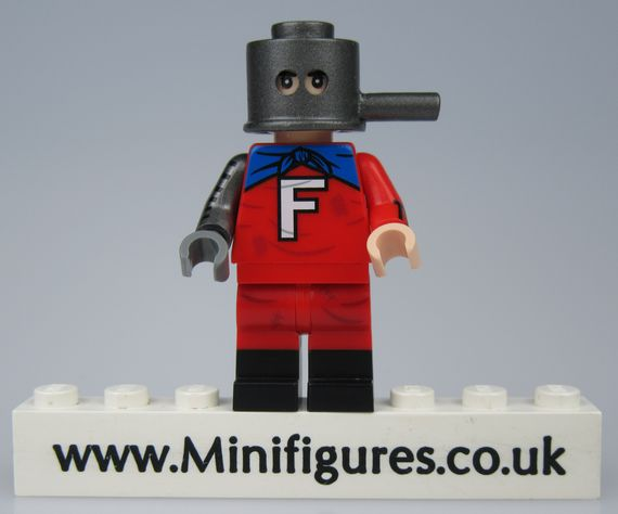 Forbush Man Crystal Custom Minifigure
