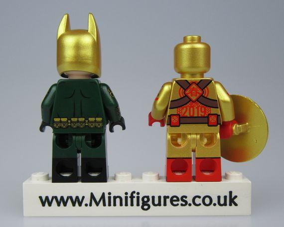 Hydra Batman & CNY Cap Outside Brick Custom Minifigure