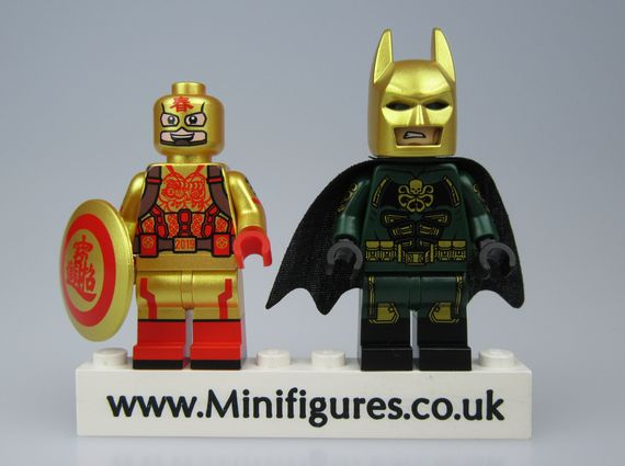 Hydra Batman & CNY Cap Outside Brick Custom Minifigure