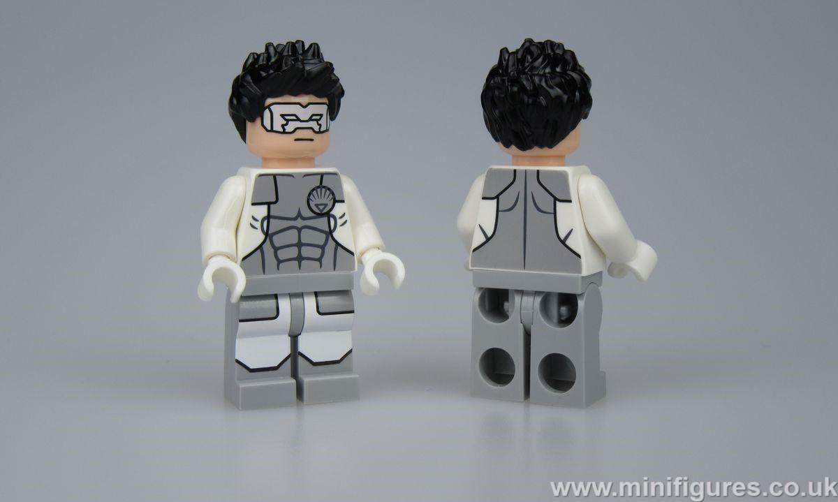 White Lantern Hal Jordon Crystal Collection Custom Minifigure