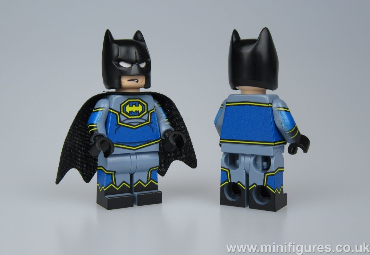 Bat-Man LeYiLeBrick Custom Minifigure