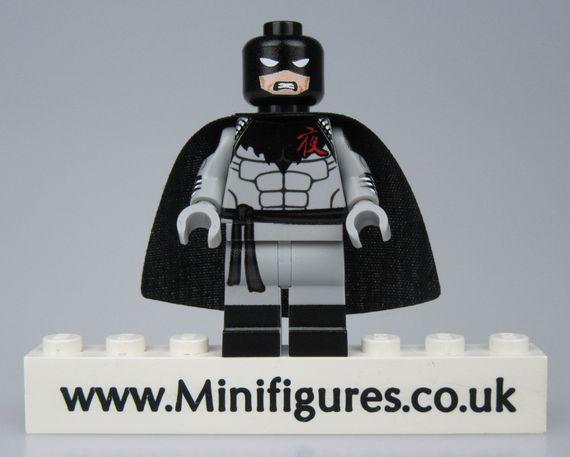Darknight LeYiLeBrick Custom Minifigure