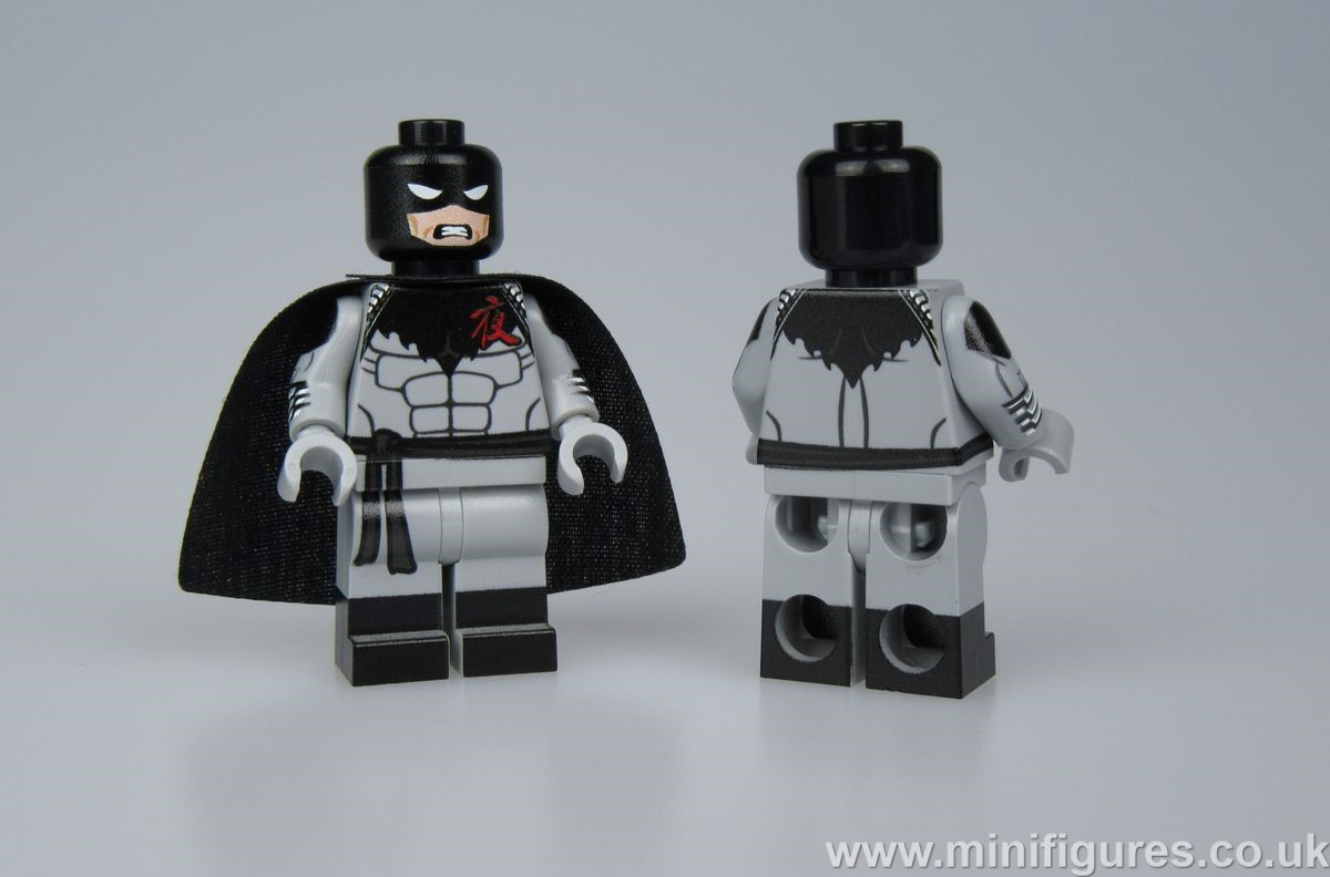 Darknight LeYiLeBrick Custom Minifigure