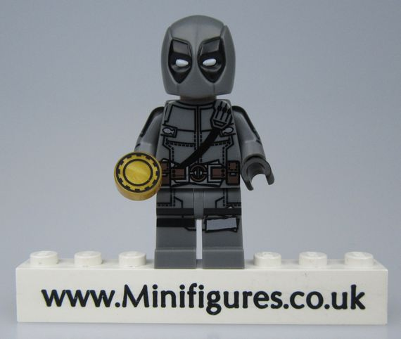 Deadpool Grey MaxBrick Custom Minifigure