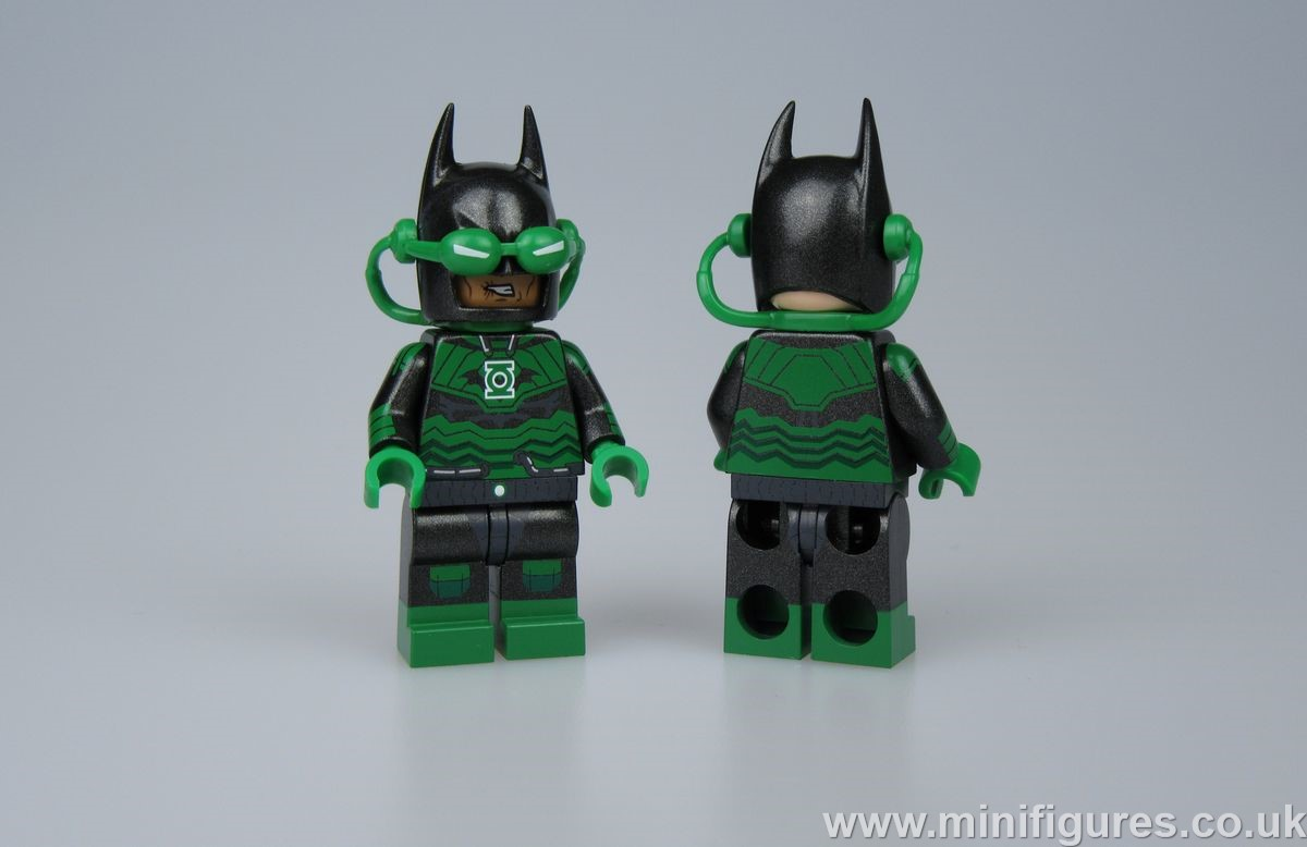 Emerald Destroyer BrothersFigure Custom Minifigure