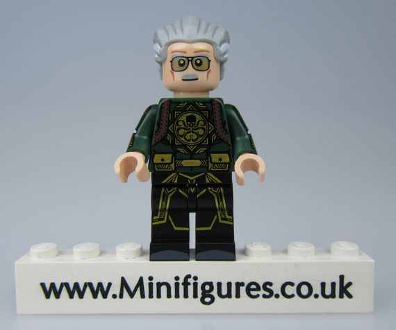 Hydra Stan Lee Outside Brick Custom Minifigure