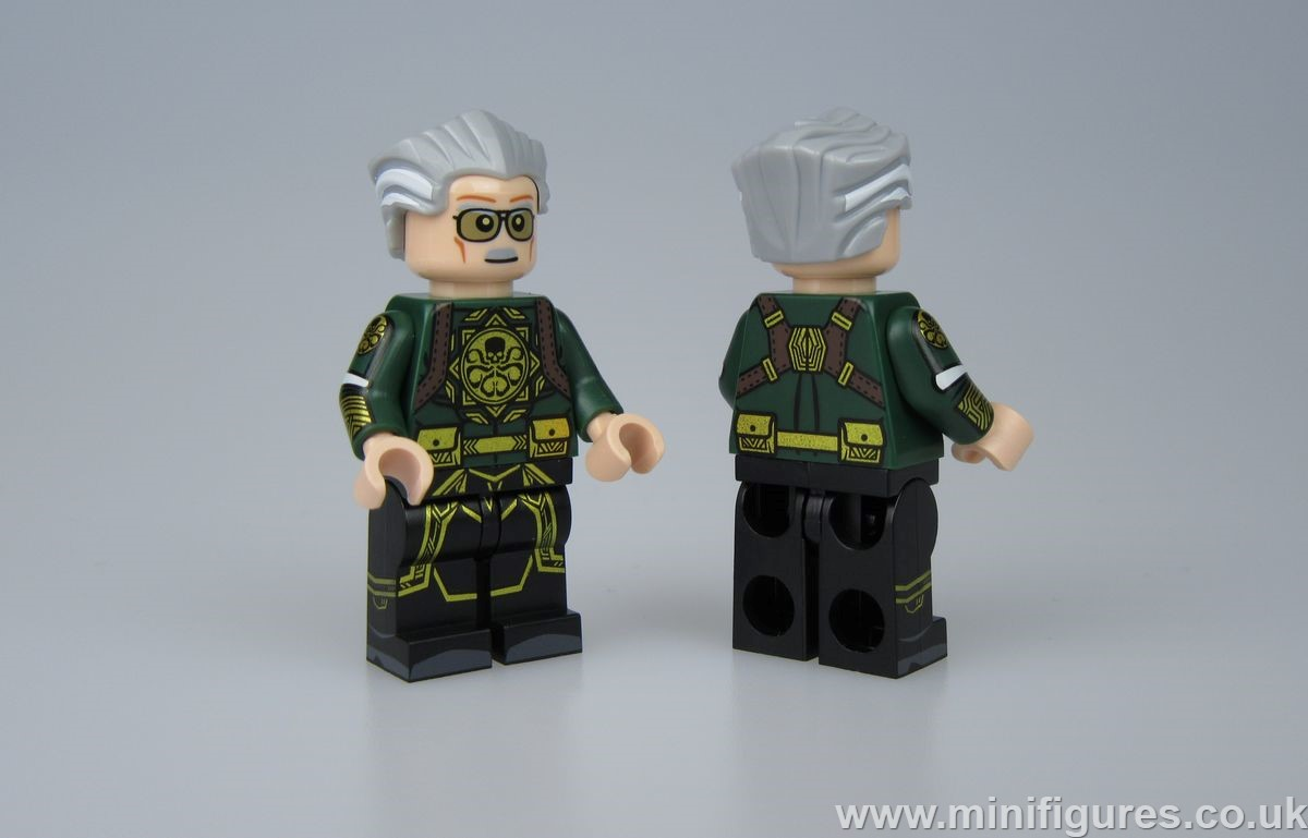 Hydra Stan Lee Outside Brick Custom Minifigure