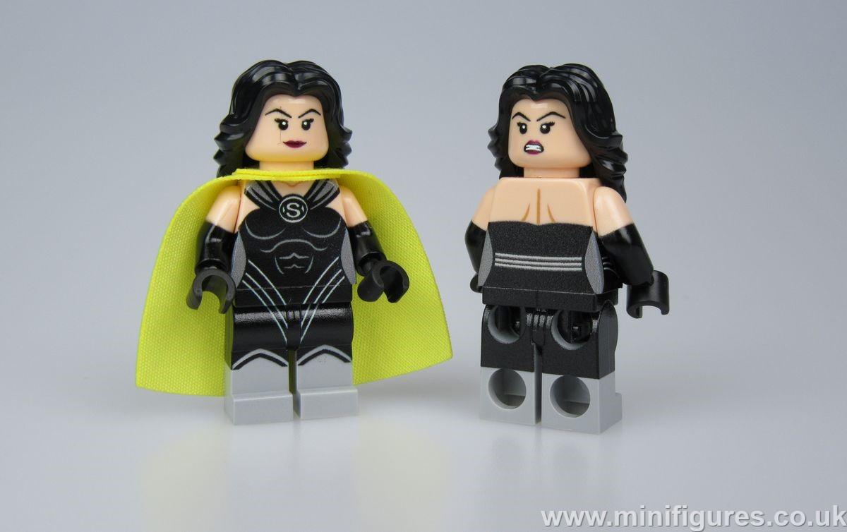 Superwoman v2 LeYiLeBrick Custom Minifigure