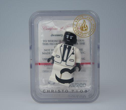 Mr Negative Christo Custom Minifigure