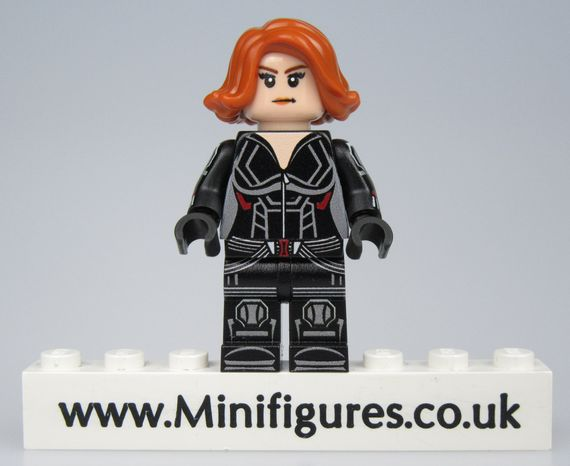 Black Widow AA4 LeYiLeBrick Custom Minifigure