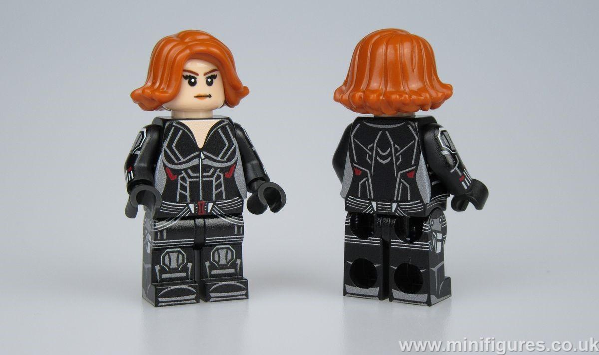 Black Widow AA4 LeYiLeBrick Custom Minifigure