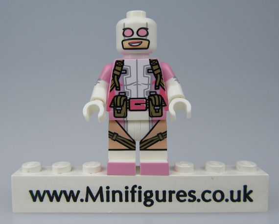 Gwenpool Crystal Custom Minifigure