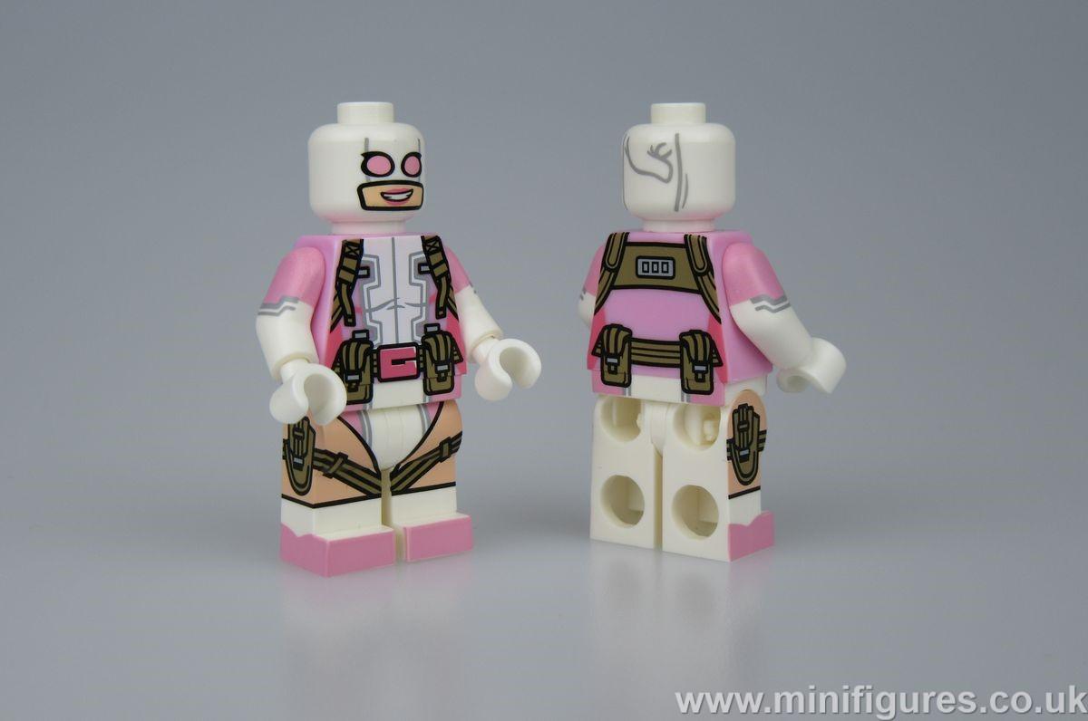 Gwenpool Crystal Custom Minifigure