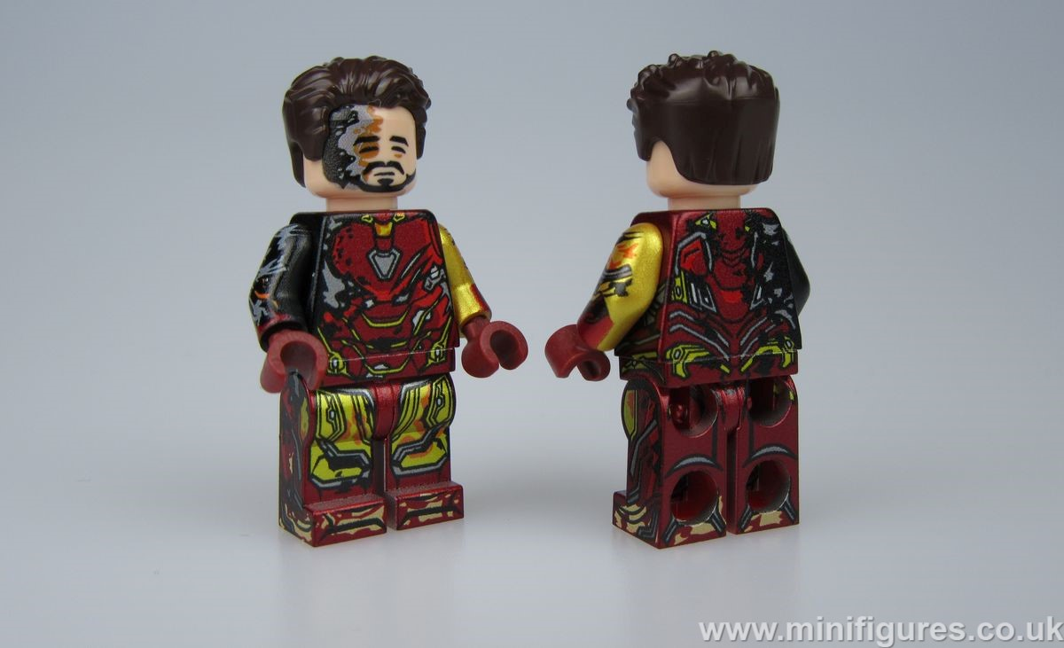 Iron Man MK 85 Damaged LeYiLeBrick Custom Minifigure