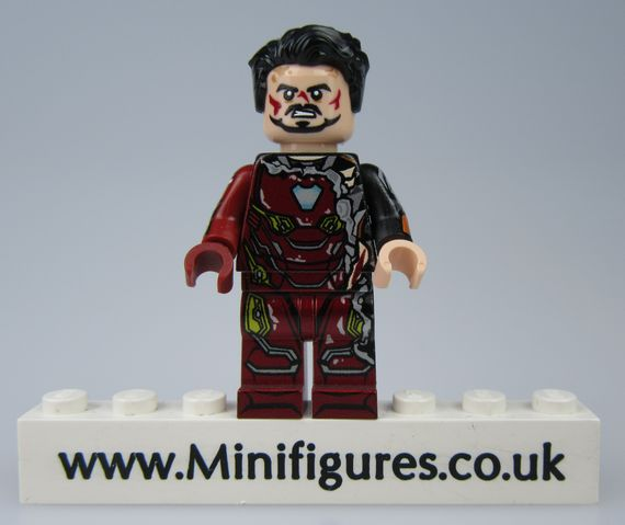 Iron Man MK 50 Damaged LeYiLeBrick Custom Minifigure