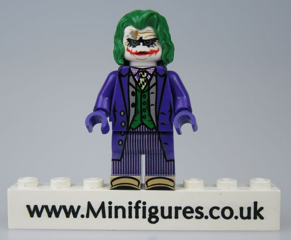 Movie Joker LeYiLeBrick Custom Minifigure