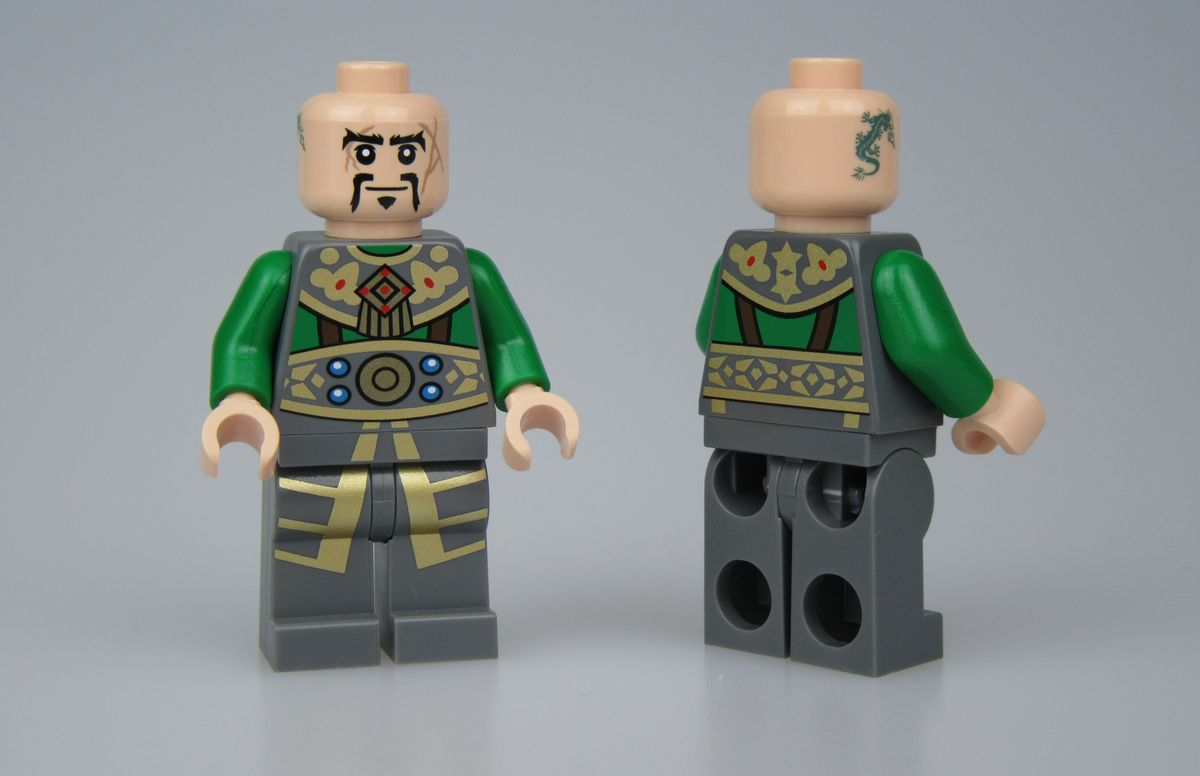 Sao Feng Christo Custom Minifigure
