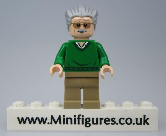 Stan Lee V2 Christo Custom Minifigure