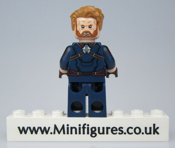 Steve Rogers IWV Donut Custom Minifigure