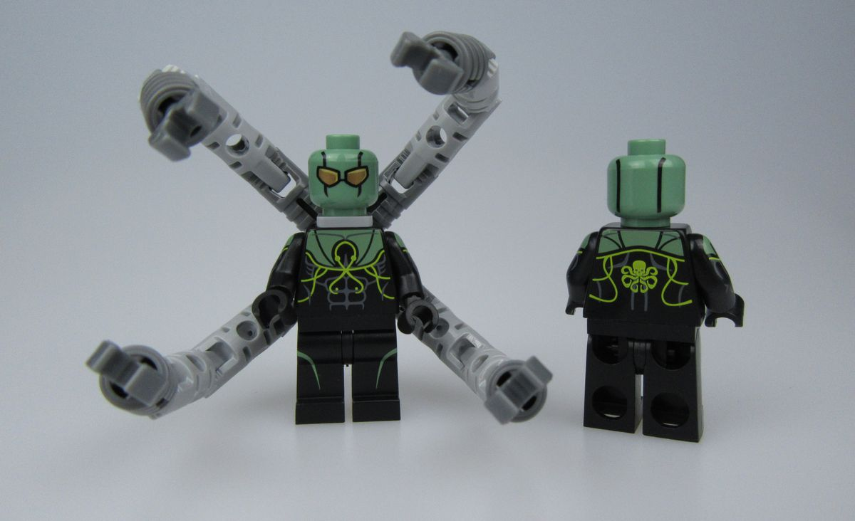 Ultimate Octopus Custom Minifigure