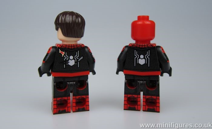 Battle Damage Spider-Man LeYiLeBrick Custom Minifigures
