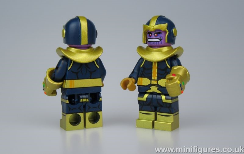 Comic Thanos UG Custom Minifigure