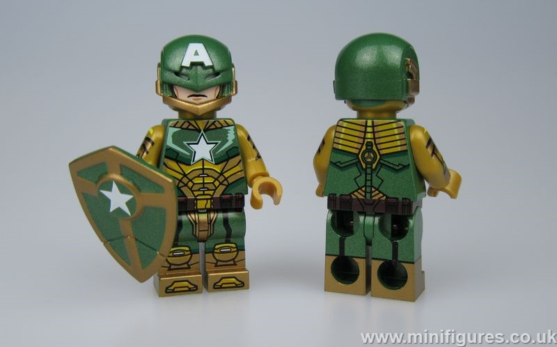 Ironclad Patriot BrothersFigure Custom Minifigure