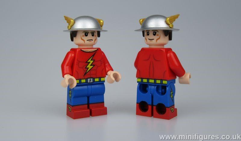 Jay Garrick Crystal Custom Minifigure