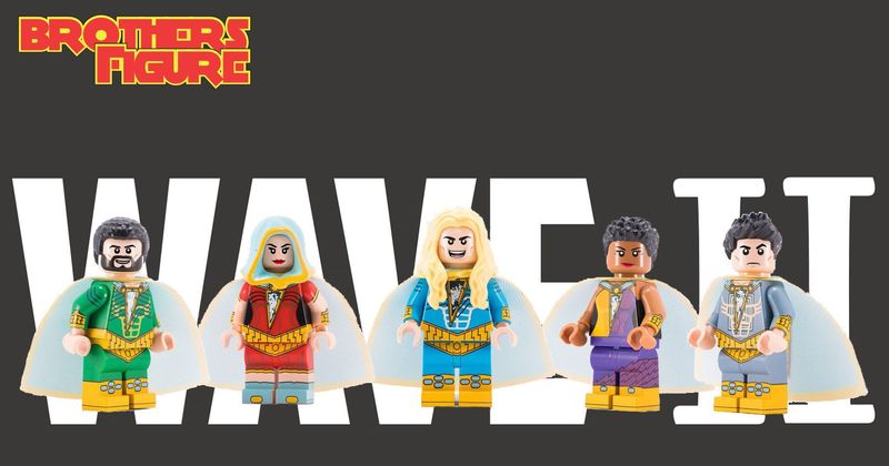 Marvelous Five BrothersFigure Lite Wave 2