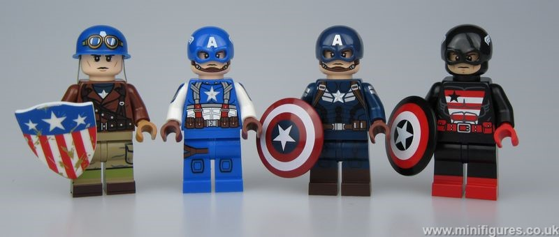 Super Soldier Custom Minifigures