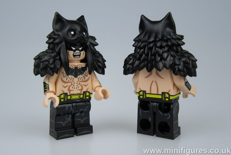 Raw Batman My Brick Shop Custom Minifigure