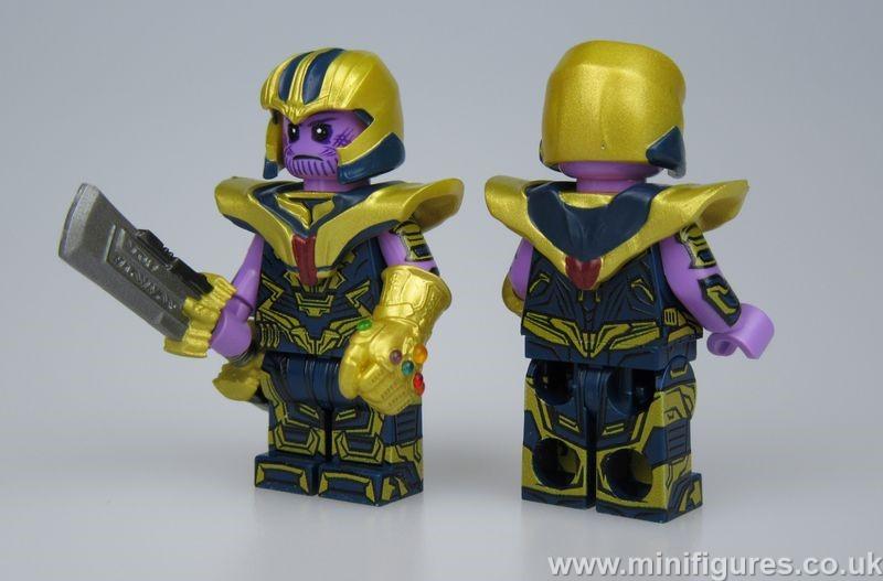 Thanos AA4 LeYiLeBrick Custom Minifigure