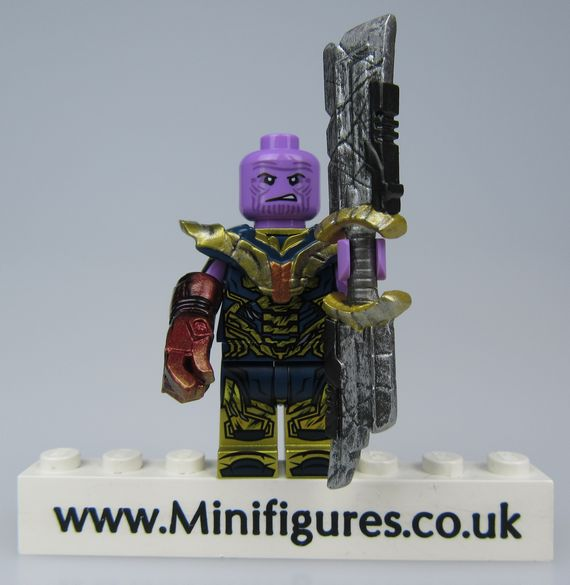 Thanos Damaged UG Custom Minifigure