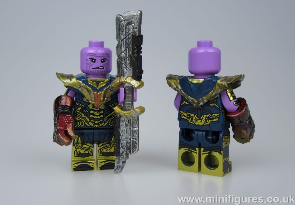 Thanos Damaged UG Custom Minifigure