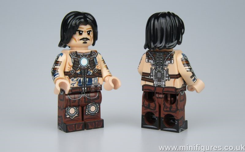 Whiplash LeYiLeBrick Custom Minifigure