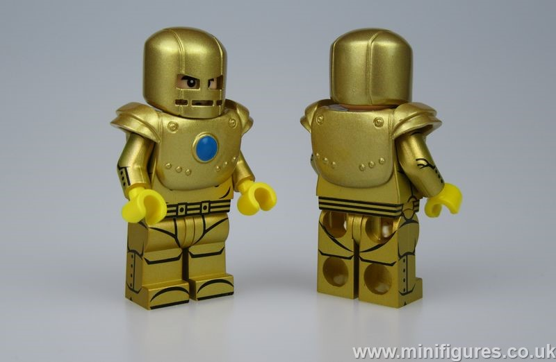 Comic MK1 Gold UG Custom Minifigure
