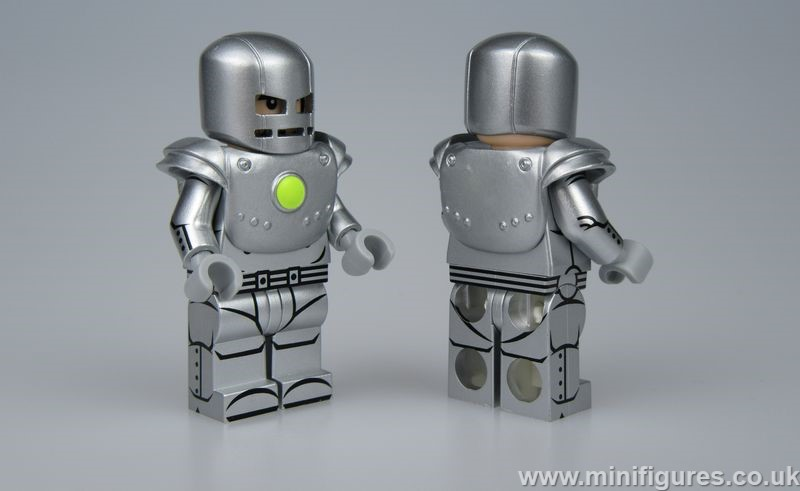 Comic MK1 Silver UG Custom Minifigure